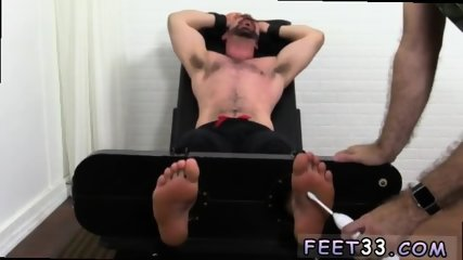 Young boy to ladyboy gay sex Dolan Wolf Jerked & Tickled - scene 3