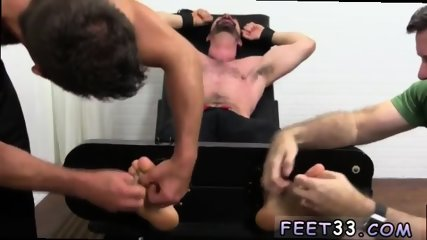 Young boy to ladyboy gay sex Dolan Wolf Jerked & Tickled - scene 4