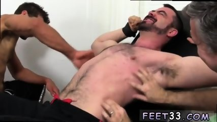 Young boy to ladyboy gay sex Dolan Wolf Jerked & Tickled - scene 6