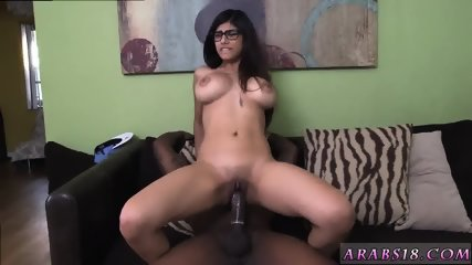 Teen playing sex toys first time Mia Khalifa Tries A Big Black Dick - scene 10