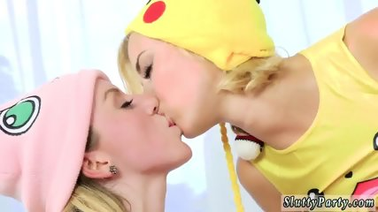Hot teen flashes on webcam Poke Man Go! - scene 6