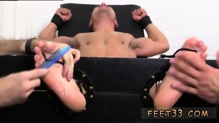 Gay feet mature anal rimming blowjob Jock Tommy Tickle d