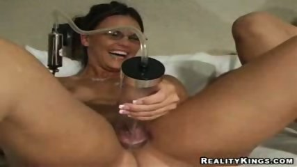Bloated pussy pump - scene 3