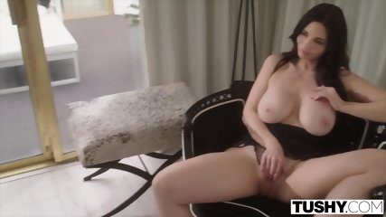 TUSHY Dominating Wife Watches As Her Husband Fucks Teen In The Ass - scene 6