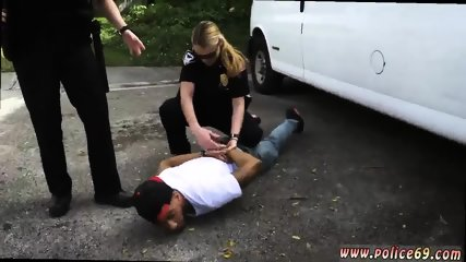 Chubby milf gangbang xxx Don t be ebony and suspicious around Black Patrol cops or else