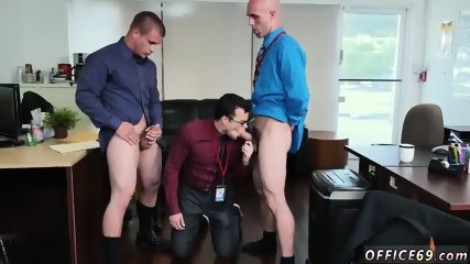 Straight boss boss s brothers jerking off toget
