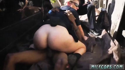 Mature milf seduces Black artistry denied