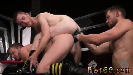 Boy arab anal gay sex Seamus O Reilly is stacked on top of Brian Bonds atop a padded