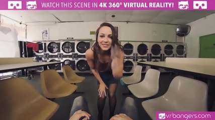 VRBangers.com Abigail Mac Getting Pounded From Behind and Titty Creamed