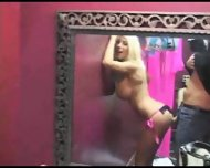Puma Swede backstage fun - scene 10