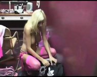 Puma Swede backstage fun - scene 2