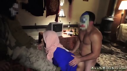 Arab housewife first time Local Working Girl