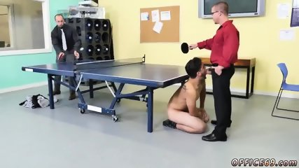 Naked men have gay sex CPR stiffy sucking and bare ping pong