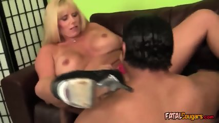Big Titted Cougar Banged by a Bbc