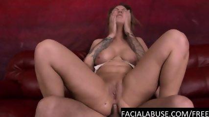 Brutal ass fuck for moaning slut