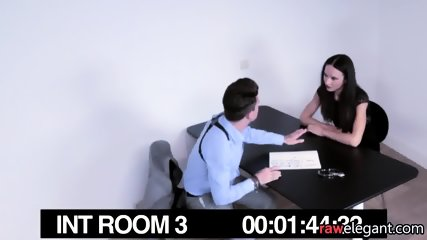 Interrogated Beauty Pussyfucked By A Cop - scene 1
