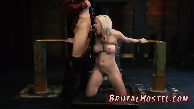 Extreme brutal bondage gangbang dp Big-breasted light-haired ultra-cutie Cristi Ann is on