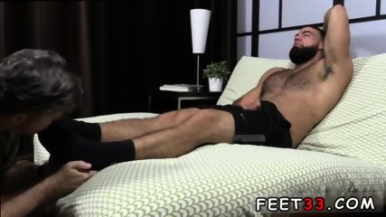 Gay wrestling feet and massive cum on his toes Ricky Larkin Shoots His Load As I Worship