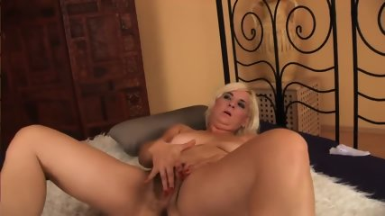 Blonde With Hairy Pussy - scene 2