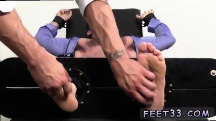 Teen gay feet cock Billy Santoro Ticked Naked