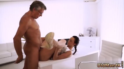 Old woman porn and piss young gangbang Finally she s got her boss dick