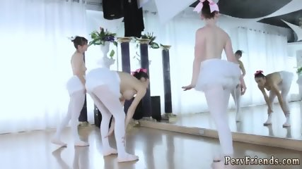 Beside companion first time Ballerinas