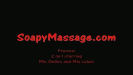 Dream Massage: 2 On 1 Asian Soapy Massage With Happy Ending - scene 3