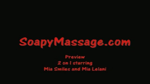 Dream Massage: 2 On 1 Asian Soapy Massage With Happy Ending