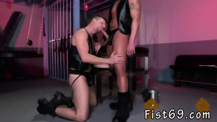 Teen using gay sex toy on male Brian Bonds goes to Dr. Strangeglove s o