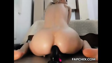 Sophisticated Nice Ass Blonde Has Beautiful Anal Masturbation