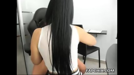 Magnificent Office Cammodel Dreaming Of A Big Cock Boyfriend
