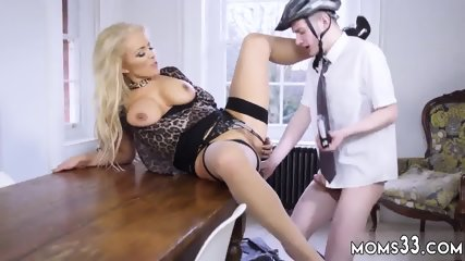 Milf ass reality and mom catches you jerking xxx Having Her Way With A Rookie