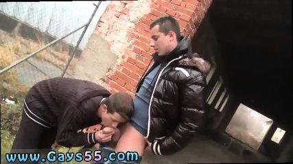 Hard men bulge public gay Tourist Ass!