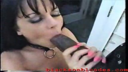 Babe gets fucked by black Dick - scene 1