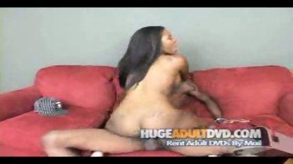 Phat ass ebony rides a cock - scene 9