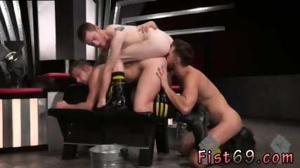 Gay man sax feet kiss Seamus O Reilly is stacked on top of Brian Bonds atop a padded