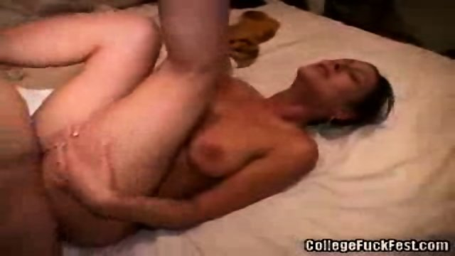 Amateur fuck at a party