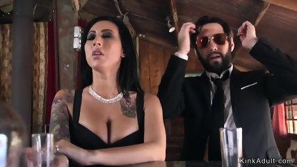 Dude ties up wife and neighbor and fucks