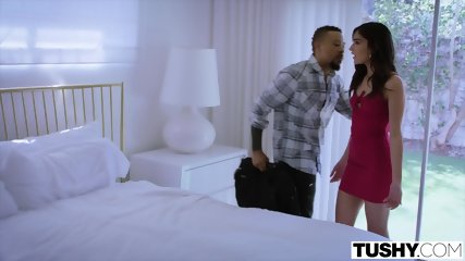 TUSHY Girlfriend Gets Dominated By Power Couple On Vacation - scene 3