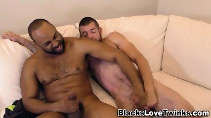 Ebony Bear Fucks And Tugs