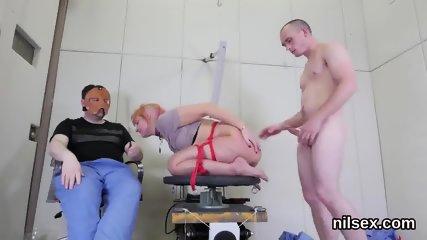 Unusual kitten is taken in anal madhouse for harsh treatment