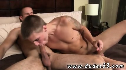 Boob sucking gay sex galleries The 2 exchange some sensual kisses before Trent gets on