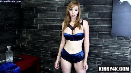 Hot pornstar domination with cum in mouth