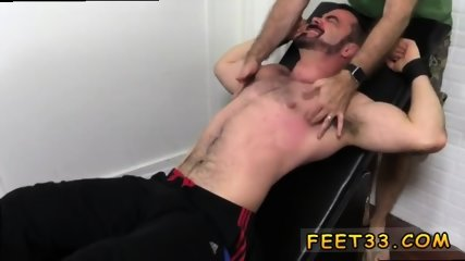 Teen sissy with cute feet gay Dolan Wolf Jerked & Tickled