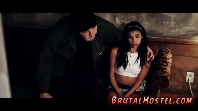 Brutal tit and hitchhiker xxx Poor lil  Latina teen Gina Valentina is truly not having a