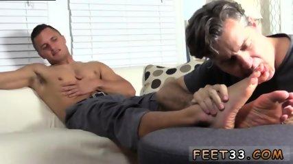 Gay foot story Tommy Makes Tenant Worship His Feet