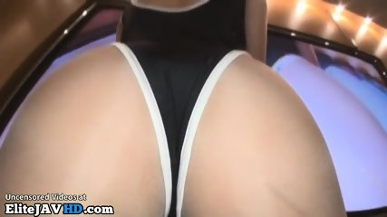 Japanese Teen In Tan Pantyhose Group Sex - scene 1