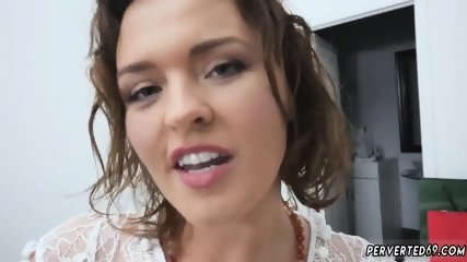 Beautiful big tits milf gives great blowjob Krissy Lynn in The Sinful Stepmother