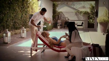 VIXEN Nicole Aniston Has Hot Dominating Sex On Vacation - scene 1