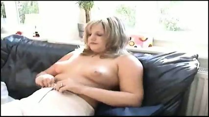 German girl having fun - scene 3